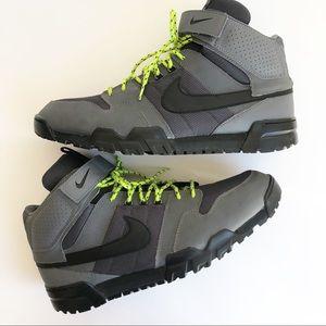 Nike Mogan Mid 2 OMS Size 15 Black Gray Green